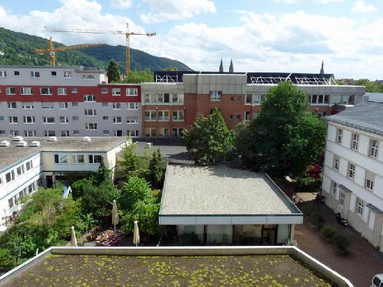 ลีโอนาร์โด โฮเต็ล ไฮเดลเบิร์ก: Leonardo Heidelberg - view from the 6th floor