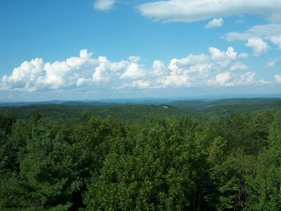‪‪Goshen‬, ماساتشوستس: View from the fire tower‬