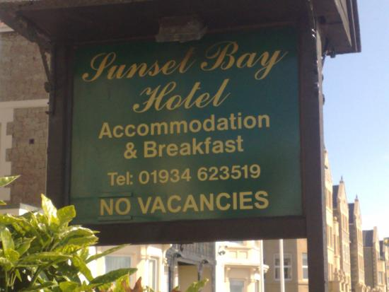 Sunset Bay Hotel.....Pleasure to stay at :-)