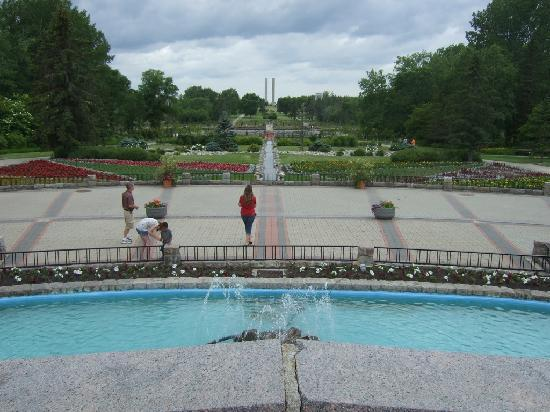 International Peace Garden: Peace Gardens
