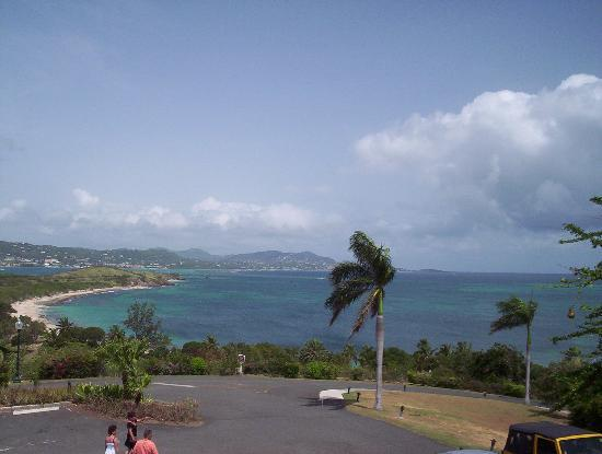 The Buccaneer St Croix: View from our room