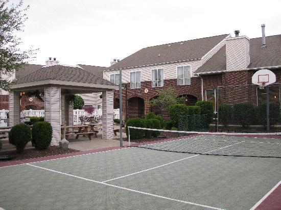 "Residence Inn Syracuse Carrier Circle: The ""Sports Court"""