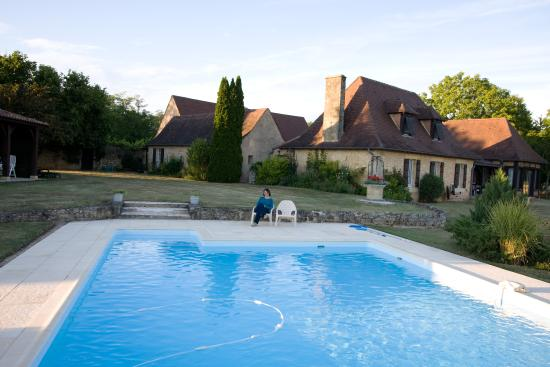 Bourniquel, Frankrike: Our swimming pool