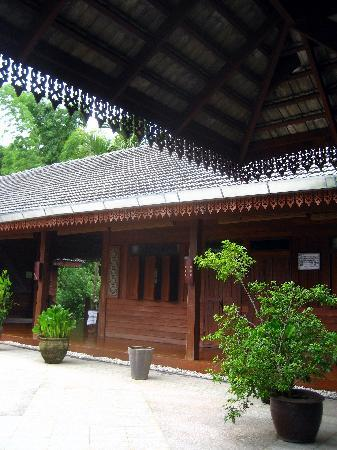 Lisu Lodge: Khum Lanna: courtyard