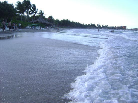 Hotel Isla Caribe: La playa