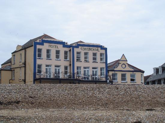 Whitstable, UK: Right on the beach.
