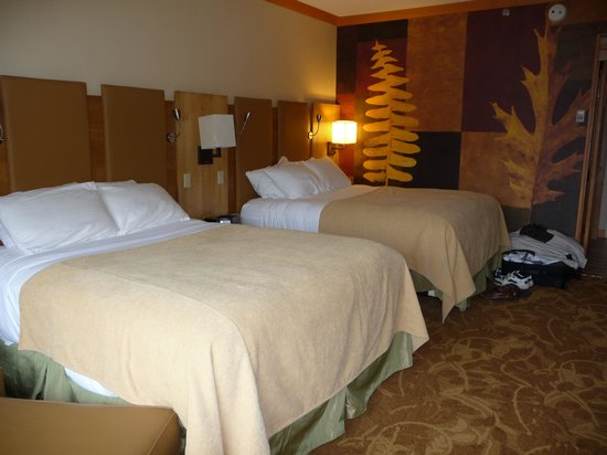 High Peaks Resort: Beds