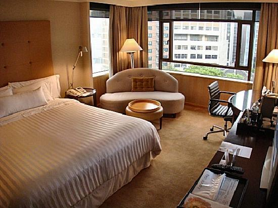 The Westin Chosun Seoul: The view from the entrance of the room