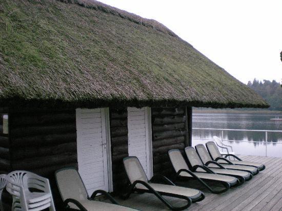 Hotel Döllnsee-Schorfheide: Hotel Doellnsee Schorfheide, Sauna House on lake-shore.