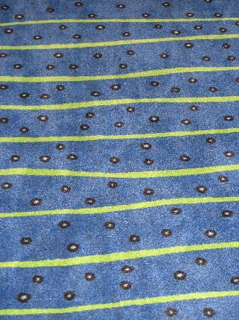 Sleep Inn: Hall Carpet-I love it