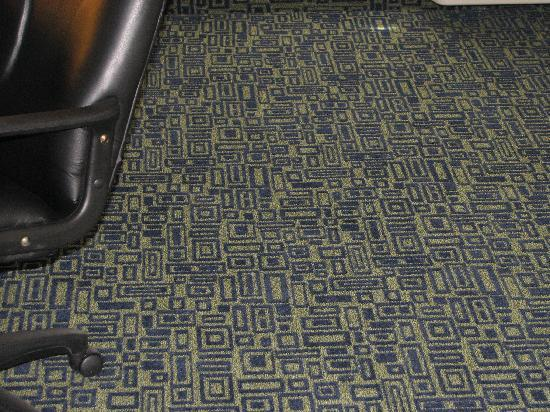 Sleep Inn: Room Carpet