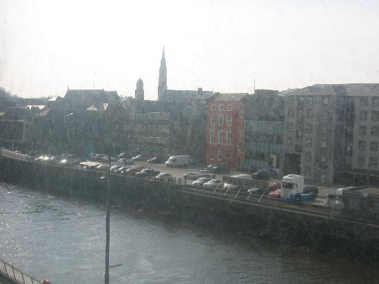 Drogheda, Irland: View from my room