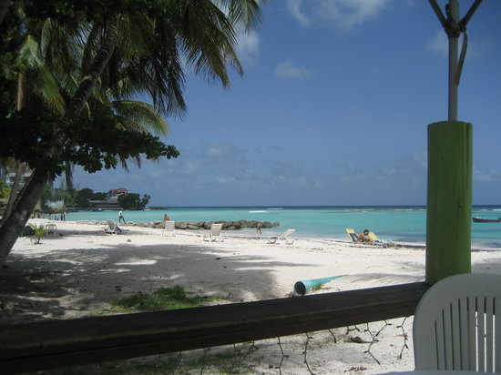 Oistins, Barbados: Imagine Sitting Here and eating Lunch