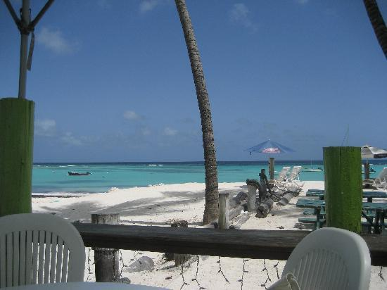 Carib Beach Bar: or just sitting drinking ice cold ber