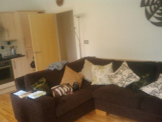 Chaucer House Apartments: Another shot of the spacious lounge