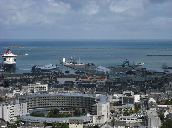 Cité de la mer : The view from Cherbourg Fort