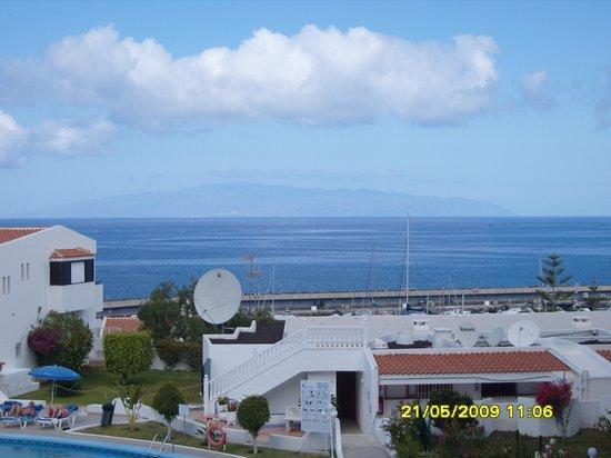 HOVIMA Atlantis: Balcony view to La Gomera