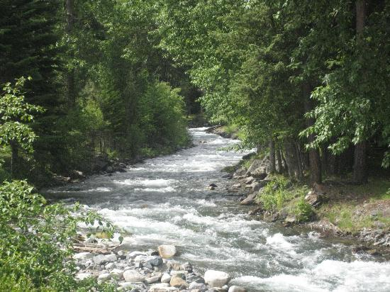 Joseph, OR: Wallowa river that is near many of the cabins