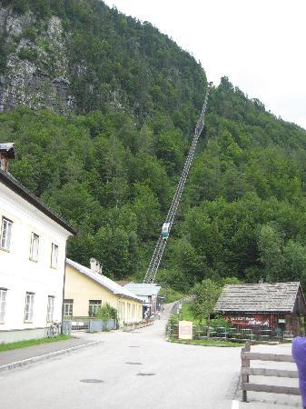Haus Trausner: Funicular to the salt mine