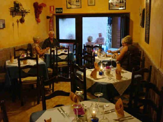 The Original Bistro: The tiny restaurant but there is seating outside