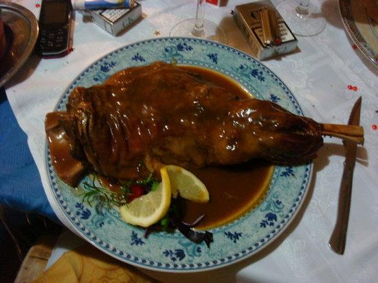 The Original Bistro: Delicious roast lamb