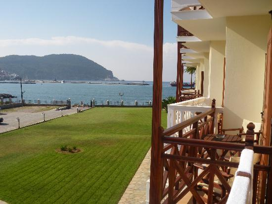 Aeolos Hotel: View from our balcony
