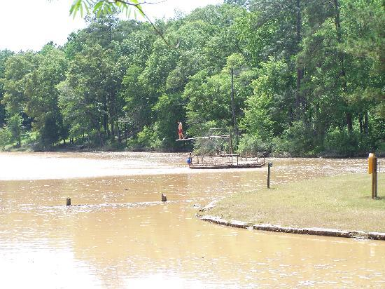 Chewacla State Park Campground and Cabins: The Swimming Area