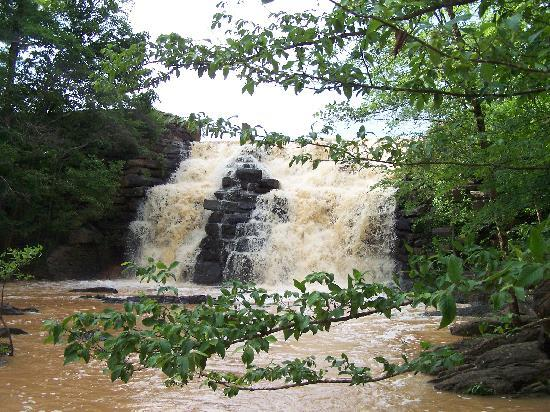 Chewacla State Park Campground and Cabins: The Falls