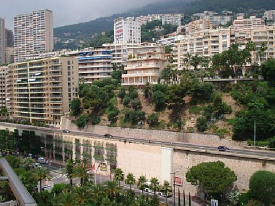 Monte-Carlo Bay & Resort: View from our terrace 4