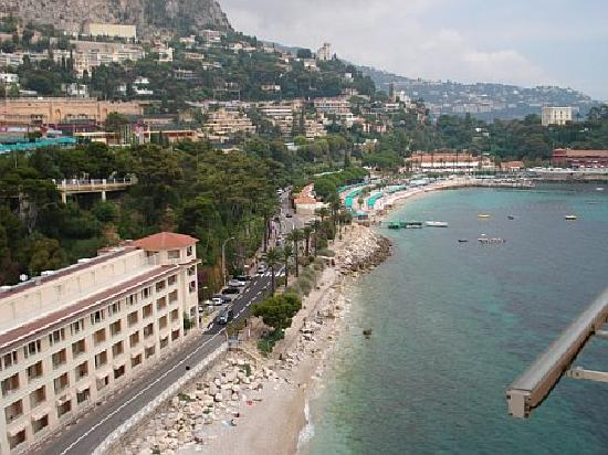 Monte-Carlo Bay & Resort: View from our terrace 5