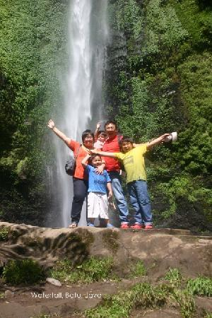 de Daunan Home and Garden Guest House: Waterfall