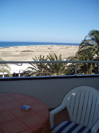 Apartamentos Taboga: View from our balcony