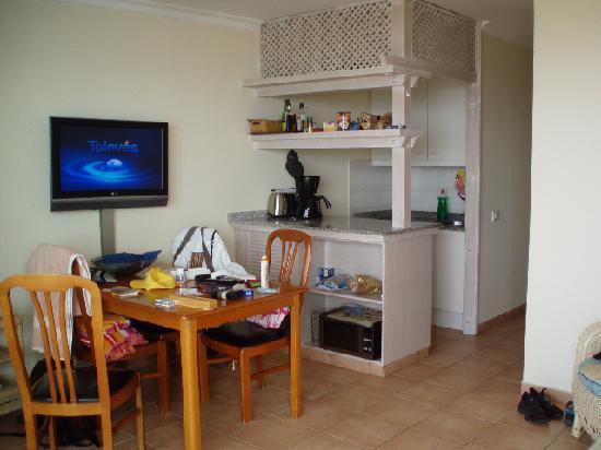 Apartamentos Taboga: Living room