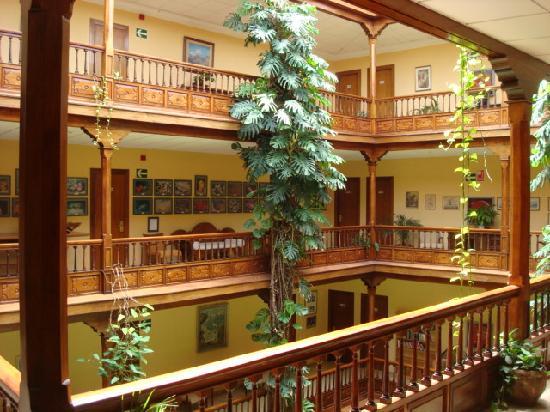 View from our room to corridor picture of hotel monopol - Monopol hotel puerto de la cruz ...
