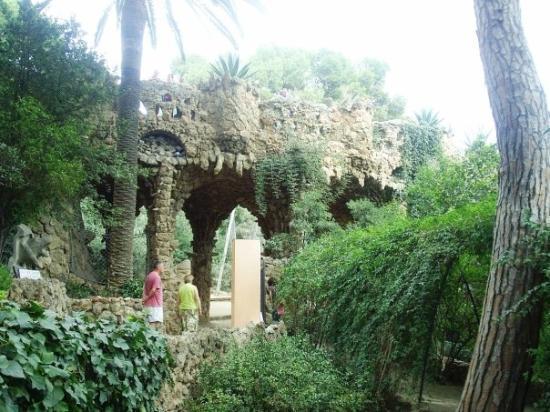 Poble espagnol jardin des sculptures photo de barcelone for Jardin en espagnol