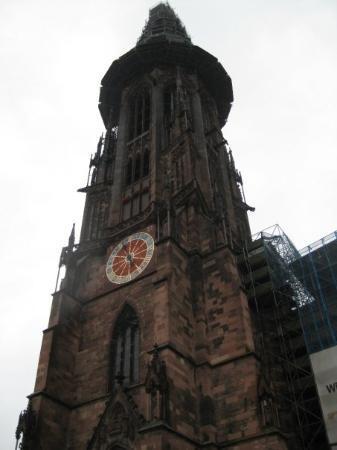 Freiburg Cathedral: Freiburg im Breisgau, Baden-Wurttemberg, Germany