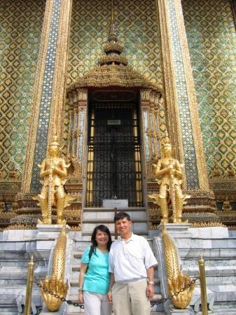 Grand Palace, Bangkok, Thailand - Jan 2005
