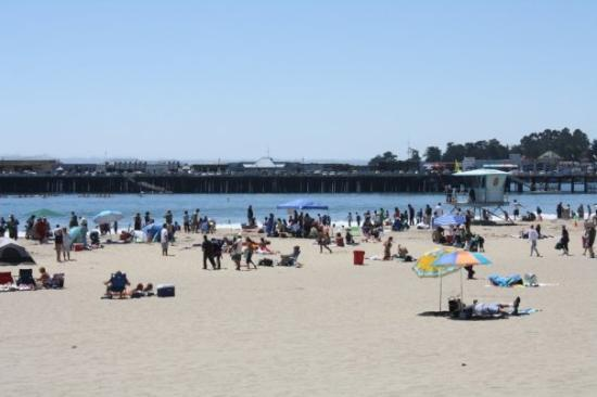 Santa Cruz Main Beach: Santa Cruz, Californie, États-Unis