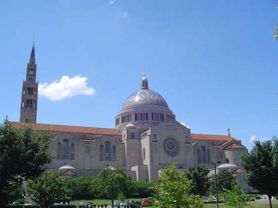 Washington DC, Distrito de Columbia: The Basilica of the National Shrine