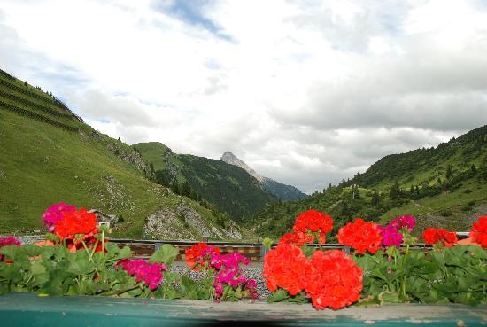 Warth, Austria: vue de notre chambre