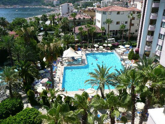 Hotel Aqua: grand view