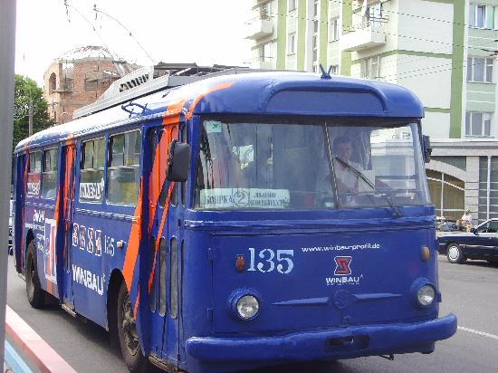 Rivne, Ucrania: Trolley bus June 2006