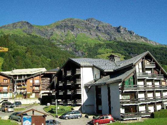 La Chemenaz Hotel : View from balcny
