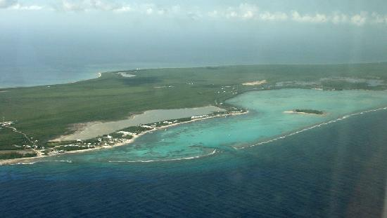 The Club at Little Cayman: LC From Plane