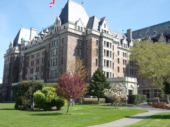 Empress Hotel National Historic Site of Canada Picture