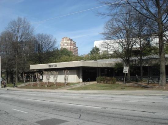 Marta Station Picture Of Atlanta Georgia Tripadvisor