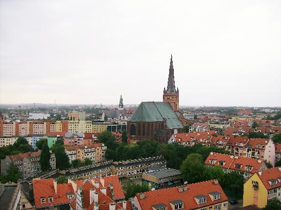 Hotel Atrium: View of Szczecin