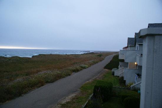 Surf & Sand Lodge: looking north from private balcony