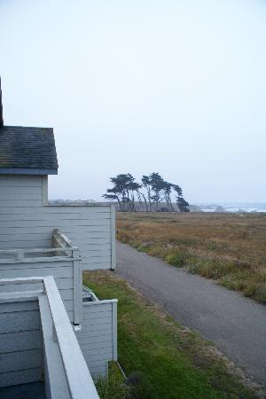 Surf & Sand Lodge: looking south from private balcony