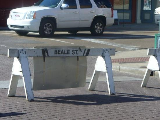 Memphis, TN: Sign for Beale St.